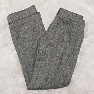 J. Crew wool wide leg high rise trouser size 6